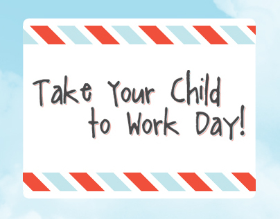 Design // Take Your Kids to Work Day!