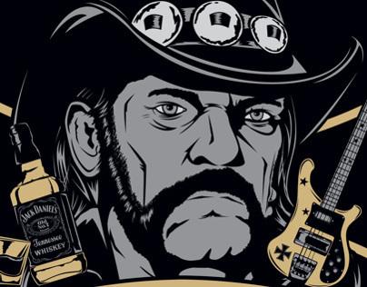 Iconos: Lemmy Kilmister