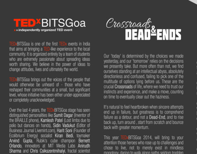 TEDxBITSGoa Sponsorship Proposal