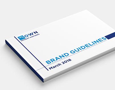 Down Payment Partners Logo Design & Brand Book Design