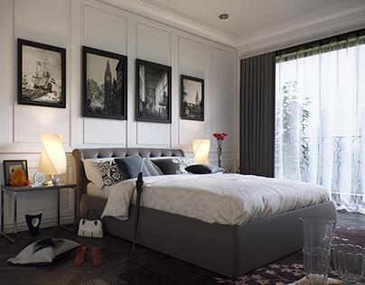 Interior Design (Bedroom)