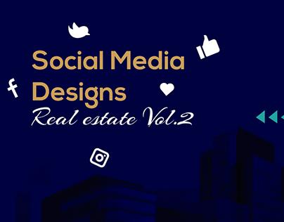 Social Media Designs - Real Estate Vol.2