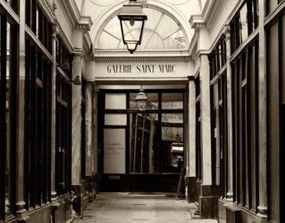 Noir et blanc Paris