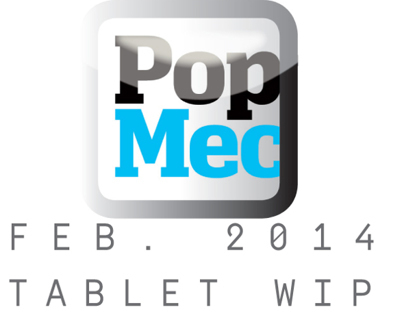 Popular Mechanics Feb 2014 Tablet Animation Preview