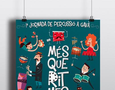 Festival de percusión MésQueRitmes