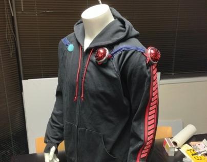 Laser-tag hoodie