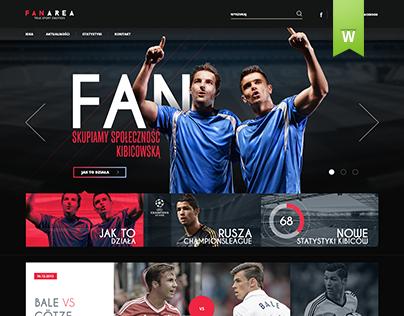 Football Fan Site Shop On Behance