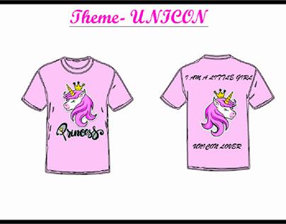Fashion 1st level project -T shirt