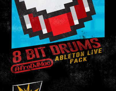 8 Bit Drums (Nintendo Styled Game Case)