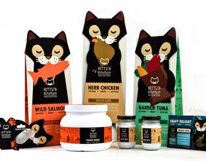 Kitty's Kitchen Cat Food Line