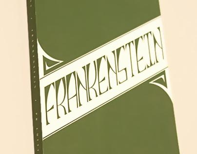Frankenstein Book Jacket
