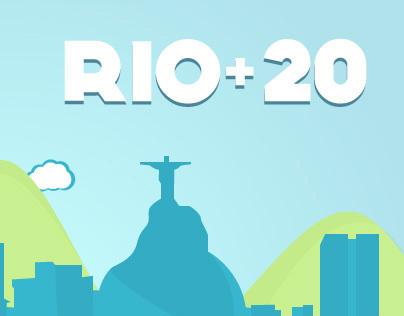 Infographie : Les chiffres de l'urgence — Rio+20