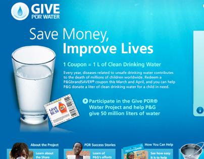 2008 PUR Save Money, Improve Lives
