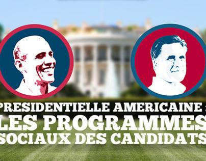 Comparateur des programmes présidentielles US