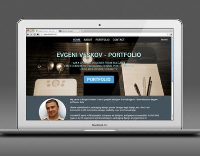 Conceptual Web design - portfolio (in progress...)
