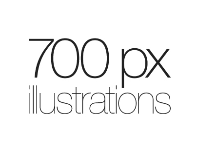 700px Illustrations