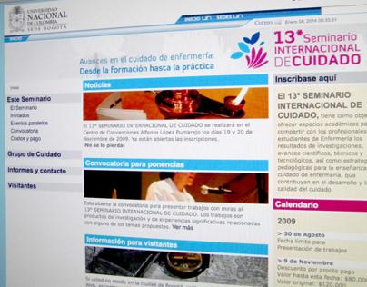 13º Seminario Internacional de Cuidado
