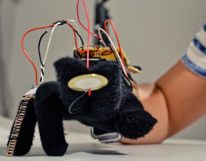 Piëzo, An Experimental Musical Glove
