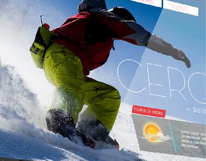 Website Skicenter Penitentes
