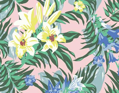 Hawaiian Shirt Print