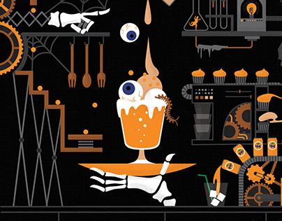 Fanta: Spooky Snack Lab
