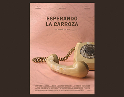 Afiche de cine - Esperando la carroza