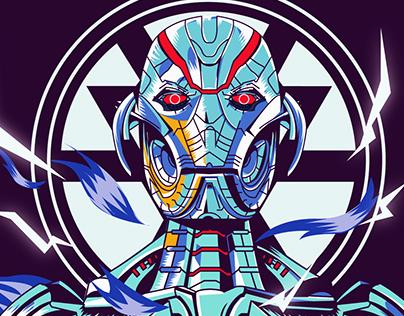 Ultron Illustration