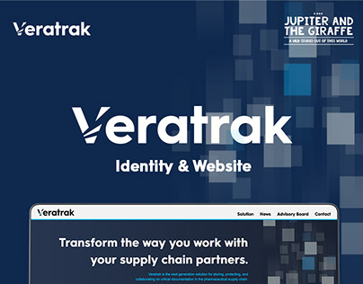Veratrak | Identity, Website Design & Bulid