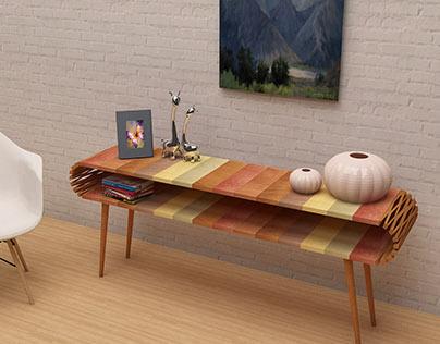 DID Sem6: Furniture Design - Console Table