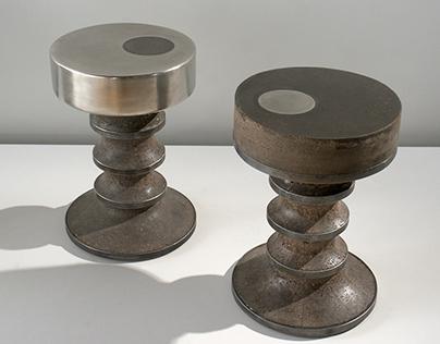 GIR pair of side tables