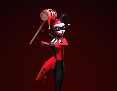 Harley Quinn - 3D Character Animation