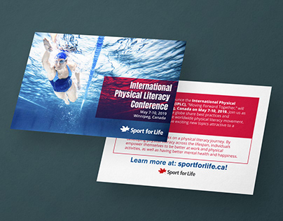 Sport For Life - Postcard Mailer