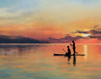 Drawsesh | Tranquil Sunset