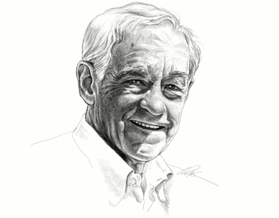 Ron Paul portrait
