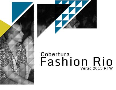Cobertura Fashion Rio Verão 2013 RTW