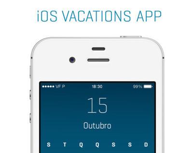 iOS Vacations APP