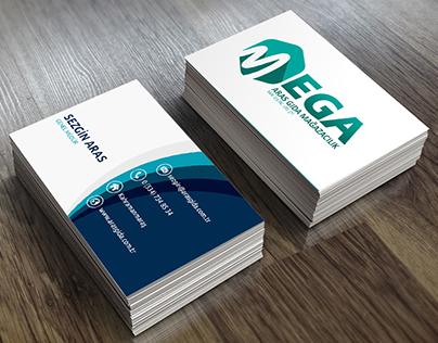 Mega Mağazacılık | Kartvizit Tasarımı