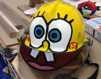 Spongebob Firefighter Helmet