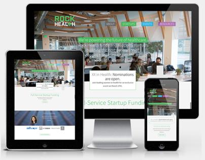 Rock Health Website Redesign