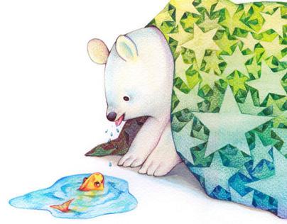 colored pencil illust
