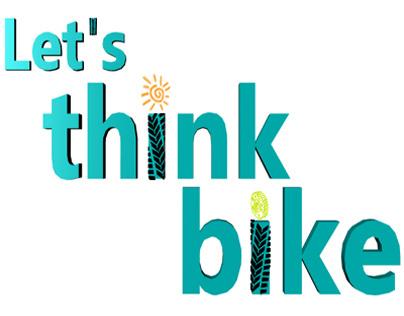 Logo For Let's think Bike