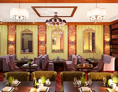 design interior for Restoraunt & Bar