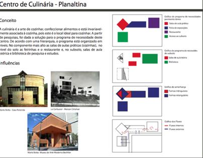 2º semestre - Prancha Centro Cultural de Culinária  PA2
