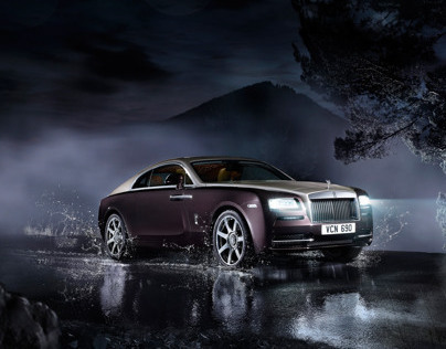 Rolls Royce Wraith - Retouching