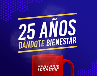 Teragrip Aniversario 25 | Campaña Interna