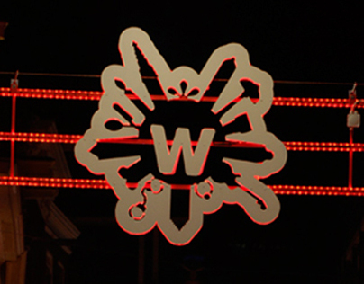 Warmoesstraat Amsterdam - Logo & Lights