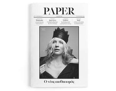 Paper Magazine No.40