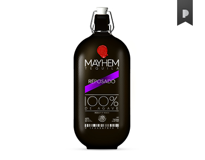 MAYHEM Tequila Packaging Concept