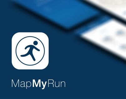 MapMyRun | iOS7 Redesign