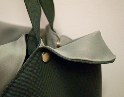 Big Picnic Bag with popper fastening